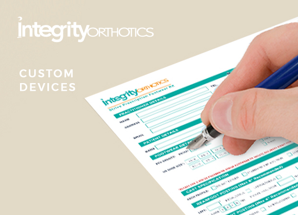 Integrity Custom Orthoses