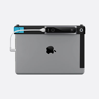 iPad with a Structure Sensor attached